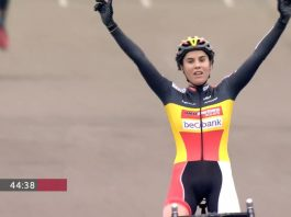 TODAYCYCLING - Sanne Cant remporte la 5e manche de la Coupe du Monde 2016/2017 à Zeven ! Photo : UCI