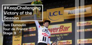 TODAYCYCLING : Sommet de la saison 2016 : Dumoulin gagne en Andorre sur le Tour. Photo : Team Giant-Alpecin