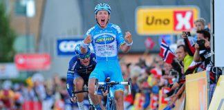 TodayCycling - Delko Marseille Provence espère triompher souvent la saison prochaine. Photo : Tour des Fjords