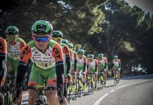 TODAYCYCLING - L'équipe Bardiani-CSF en camp d'entraînement - Photo: Twitter Bardiani-CSF