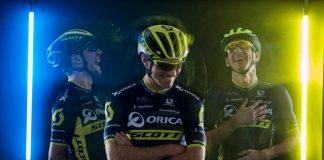 TODAYCYCLING - La nouvelle tenue d'Orica-Scott pour 2017. Photo : Orica-BikeExchange