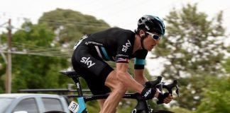 TODAYCYCLING - Geraint Thomas lors du Tour Down Under 2016. Photo : Team Sky