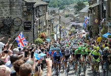 TODAYCYCLING.COM - Le Tour de France visite le Yorkshire. Photo : BT.com