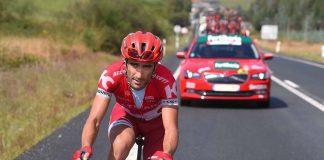 TODAYCYCLING - Tiago Machado lors du Tour d'Espagne 2016. Photo : TDWSport/Katusha