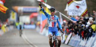 TODAYCYCLING - Zdenek Stybar remporte son troisième titre de champion du monde de cyclo-cross en 2014. Photo : TDWSport/Quick-Step Floors