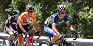 TODAYCYCLING.COM - Esteban Chaves n'a pas pu renverser Richie Porte. Photo : Tour Down Under
