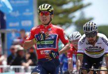 TODAYCYCLING.COM - Caleb Ewan vainqueur de l'étape 3. Photo : Tour Down Under