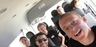 TODAYCYCLING - Lotto NL-Jumbo est arrivée en Australie pour disputer le Tour Down Under - Photo: Twitter Robert Gesink