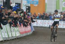 TODAYCYCLING - Wout Van Aert sans concurrence en Belgique - Photo: Photopress.be