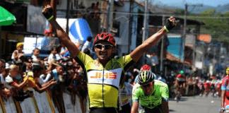 TODAYCYCLING.COM - Wilmer Bravo vainqueur d'étape sur la Vuelta al Tachira. Photo : Twitter