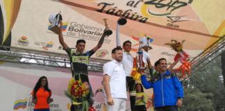 TODAYCYCLING.COM - Yimmi Briceno vainqueur de l'étape 9 de la Vuelta al Tachira. Photo : Vuelta al Tachira