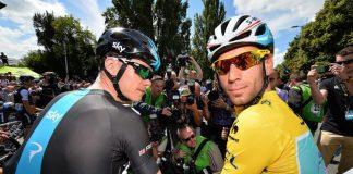 TODAYCYCLING - Chris Froome et Vincenzo Nibali, rivaux sur les courses à étapes - Photo: Presse Sports