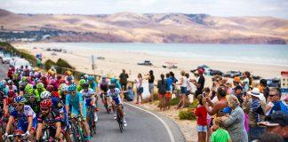 TODAYCYCLING.COM - Le Tour Down Under 2017, première épreuve World Tour de la saison. Photo : South Australia