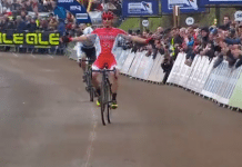 TODAYCYCLING - Clément Venturini sacré champion de France de cyclo-cross 2017 ! Photo : France TV