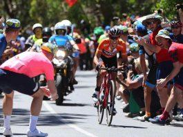 TODAYCYCLING - 4e succès dans Willunga Hill et 5e succès d'étape au total sur le Santos Tour Down Under pour Richie Porte. Photo : BMC Racing Team / TDW Sport