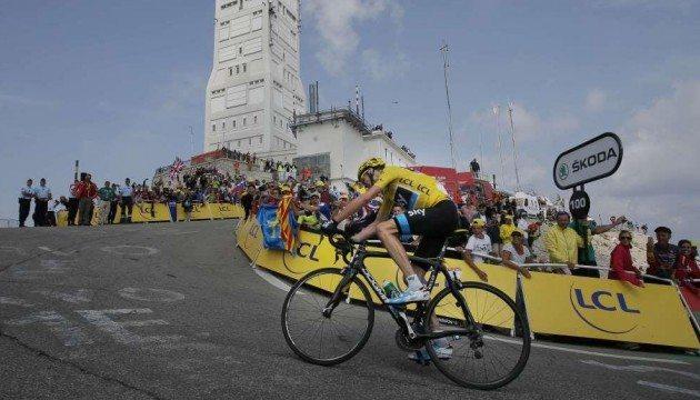 Mont Ventoux Dénivelé Challenge arrive en 2019