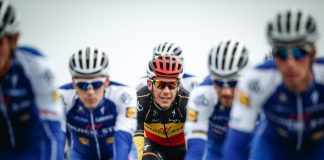 TODAYCYCLING - Philippe Gilbert et son nouveau maillot Quick-Step-Floors - Photo: Quick-Step Floors