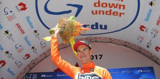 TodayCycling - A l'issue de l'étape reine, Richie Porte a consolidé son maillot de leader. Photo : Tour Down Under