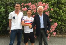 TODAYCYCLING - Kevin Rivera a signé un contrat de quatre ans avec Gianni Savio et Androni Sidermec. Photo : Androni Sidermec