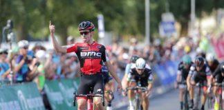 TODAYCYCLING.COM - Miles Scotson titré sur la course en ligne. Photo : Cycling Australi
