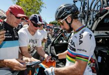 TODAYCYCLING - Peter Sagan, l'un des principales attractions du Tour Down Under - Photo: Facebook Bora-Hansgrohe