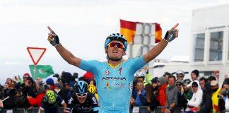 """TODAYCYCLING - Avec une équipe aussi forte sur le papier, Astana ne viendra pas au Portugal pour """"enfiler des perles"""". Photo : Volta ao Algarve"""