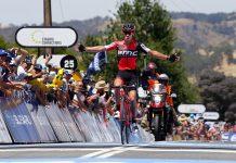 TodayCycling - 2e étape du TDU 2017 et première victoire de la saison pour Richie Porte, à Paracombe. Photo : Tour Down Under