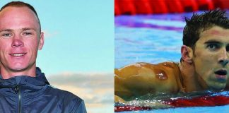 Christopher Froome mieux que Michael Phelps !