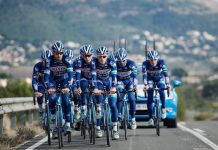 TODAYCYCLING - La formation Wanty-Groupe Gobert à l'entraînement en 2016 - Photo: Jean-Marc Hecquet