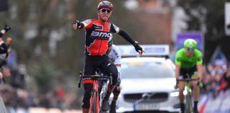 Greg Van Avermaet double la mise sur le Het Nieuwsblad 2017 / Photo: BMC Racing Team/TDWSport