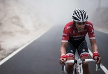 Alberto Contador (Trek-Segafredo) mécontent d'Alejandro Valverde (Movistar)