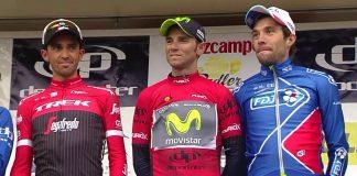 Ruta del Sol : Valverde pour une seconde d'avance sur Contador