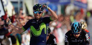 Alejandro Valverde (Movistar) s'impose, les français dans le coup