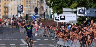 Alejandro Valverde s'impose après une aventure de 60km en solo