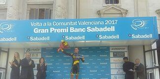 Bryan Coquard (Direct Energie) remporte la dernière étape du Tour de Valence