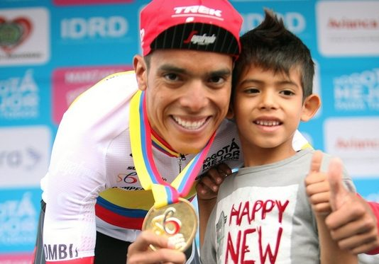 Jarlinson Pantano (Trek) sacré champion de Colombie du chrono