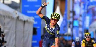 Magnus Cort Nielsen ravi son équipe Orica-Scott sur le Tour de Valence