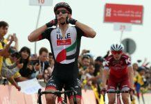 Tour d'Abu Dhabi : Rui Costa fait briller le maillot UAE Team Emirates à domicile