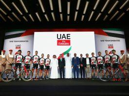 25 coureurs vont porter le maillot UAE Team Emirates en 2018