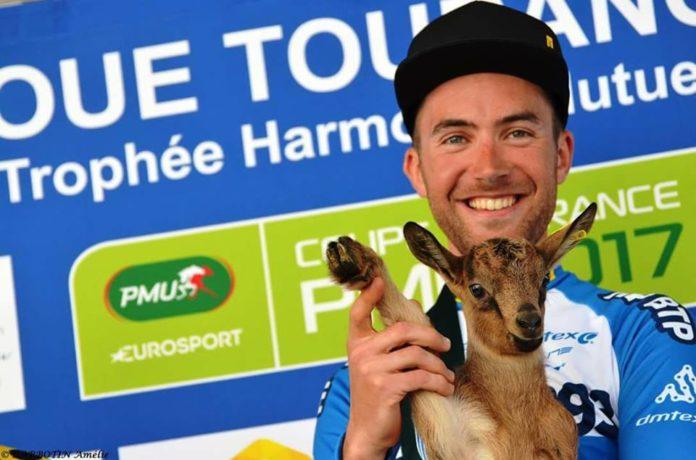Flavien Dassonville (HP BTP-Auber 93) remporte la deuxième étape du Tour de Bretagne 2017