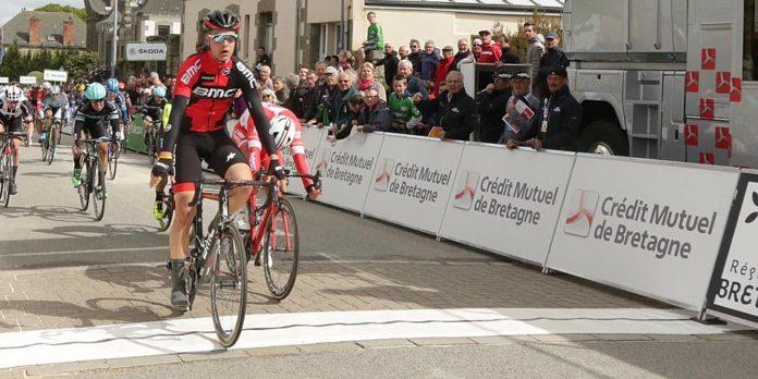 Bram Welten (Bmc) remporte au sprint la première étape du Tour de Bretagne Cycliste à Merdrinac