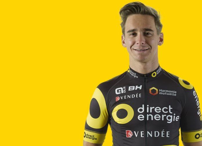 Bryan Coquard au départ de l'Amstel Gold Race 2017