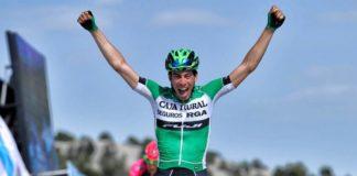 Jaime Roson a battu au sprint Vincenzo Nibali et a endossé le maillot de leader du Tour de Croatie 2017