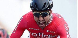 Nacer Bouhanni a chuté lourdement lors de la 3e étape du Tour de Yorkshire 2017