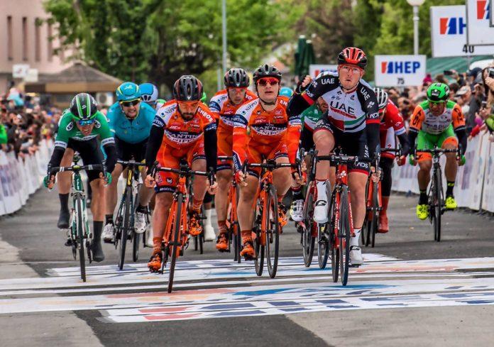 Sacha Modolo s'adjuge la première étape du Tour de Croatie et le premier maillot de leader