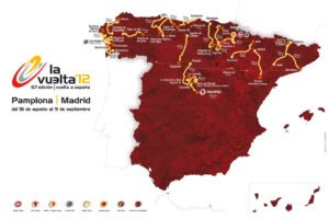 Parcours de la Vuelta 2012, ou comment occulter le Sud du pays pour maximiser les arrivées au sommet...