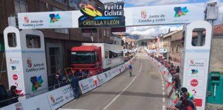 Résumé (classements, résultats, vidéo) de la première étape du Tour de Castille et Leon et de la victoire d'Alexander Evtushenko (Lokosphinx)