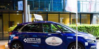 Une safety-car précédera les coureurs sur le Tour de Belgique 2017