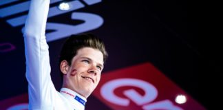 Tour d'Italie : Bob Jungels (Quick-Step Floors) s'inspire de Bradley Wiggins et de Tom Dumoulin (Team Sunweb)