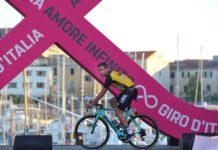 Bram Tankink a couru 11 étapes du Tour d'Italie avec une côte fracturée
